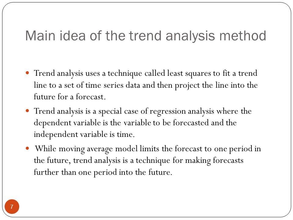 Forecasting Using Trend Analysis - Ppt Download