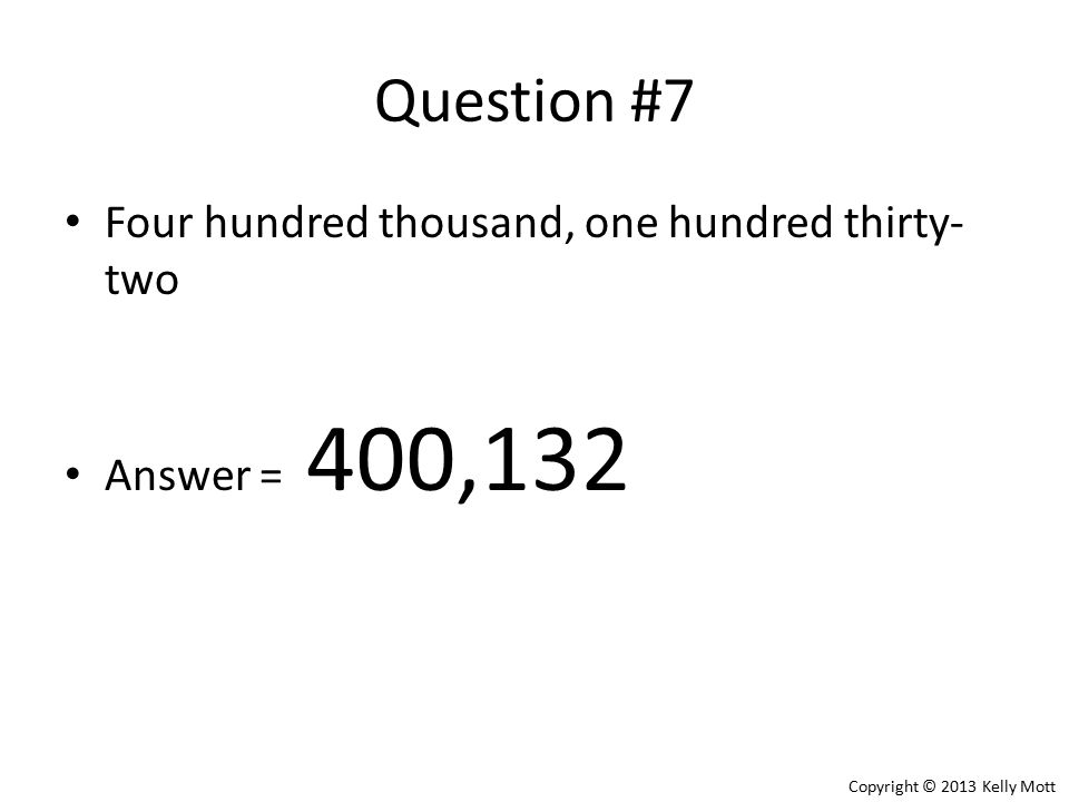 How to write two thousand