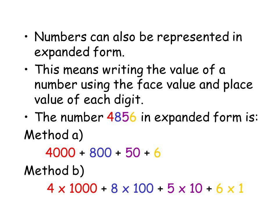 Understanding Numbers Ppt Video Online Download