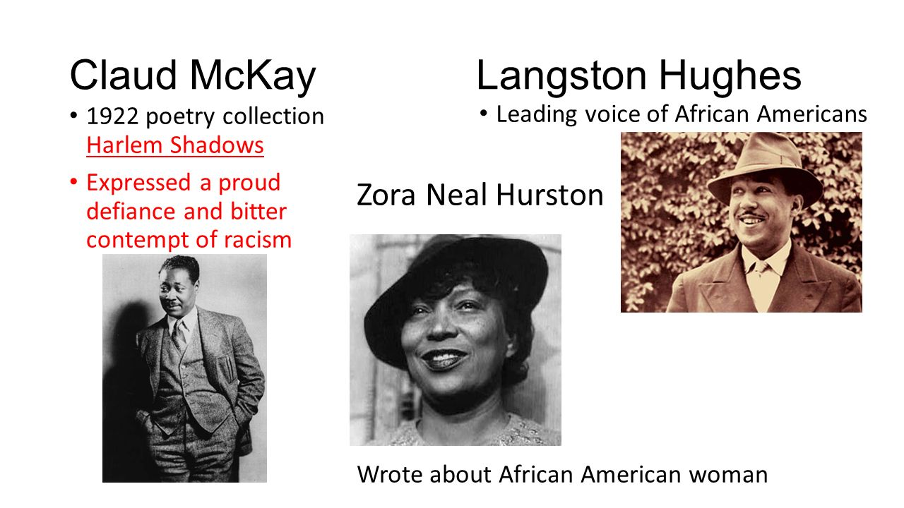 the theme of oppression in claude mckays poem america Claude mckay claude mckay was an early harlem renaissance poet and novelist who was born in jamaica his poetry involved themes of inequality and oppression, usually focusin g on black americans.