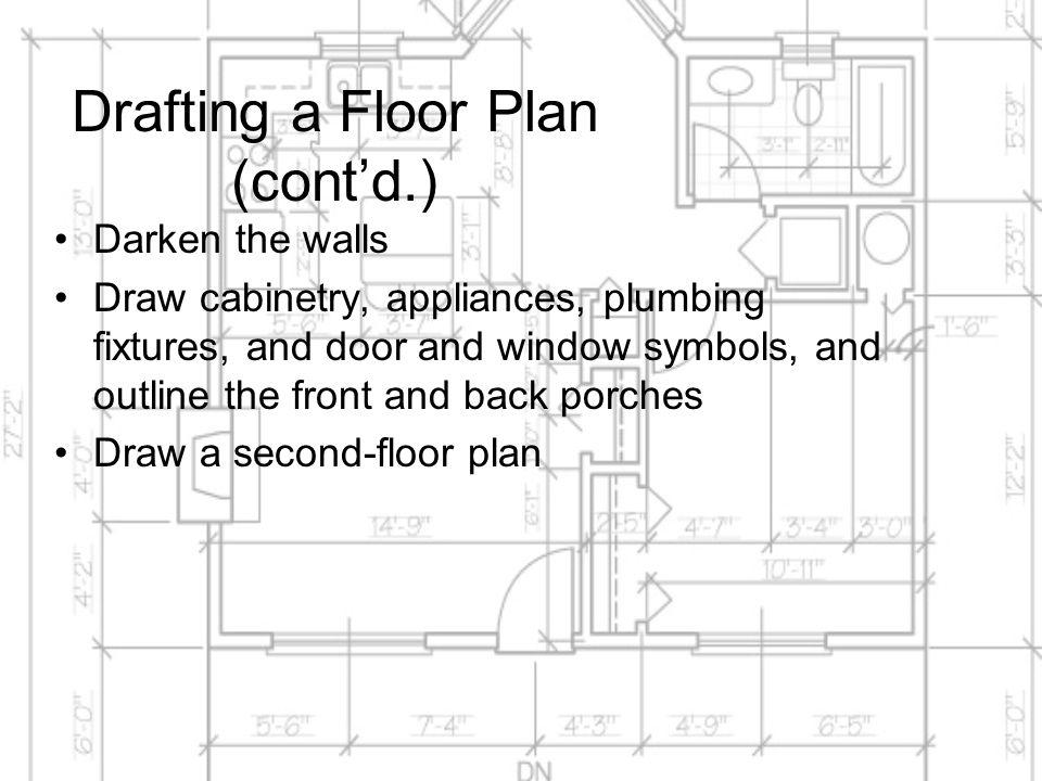 Window Drawing Symbols & Sc 1 St House Plan Blog