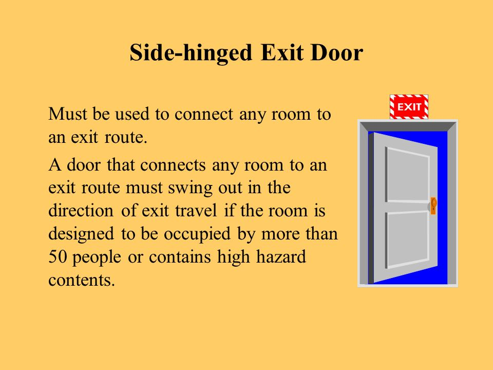Exit Doors Must Be Unlocked. 10 OSHA ...  sc 1 st  SlidePlayer & Fire Safety and Fire Extinguishers - ppt video online download