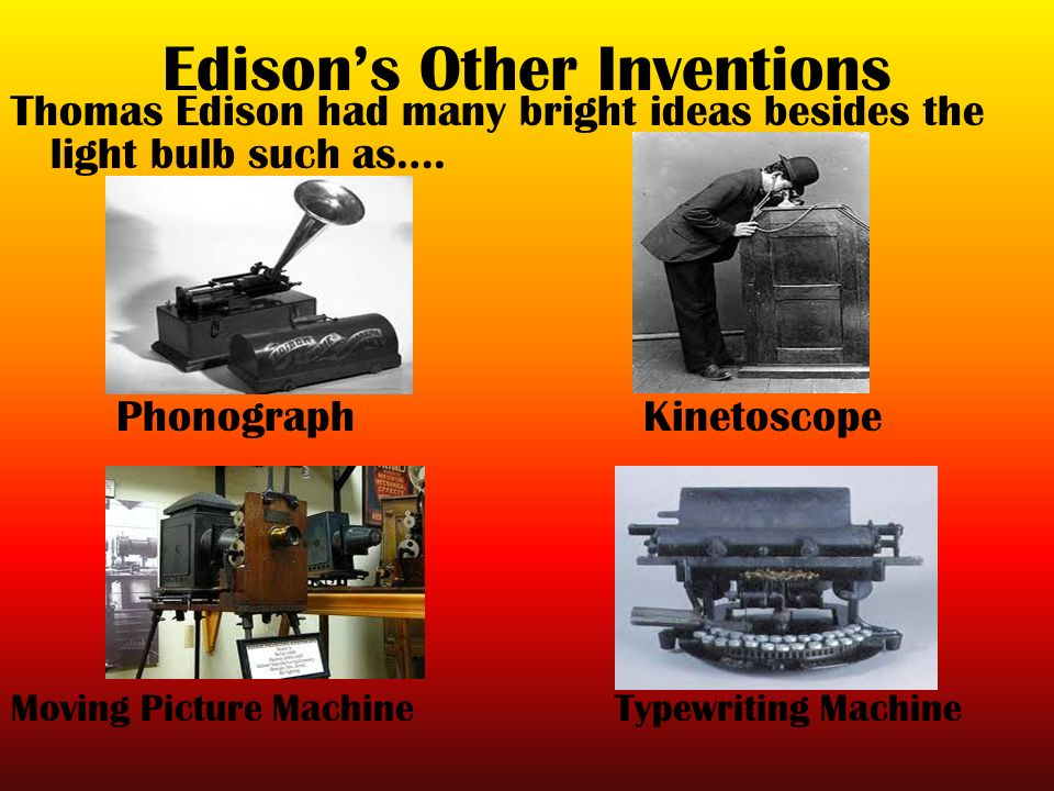 Edison's Patents - The Edison Papers