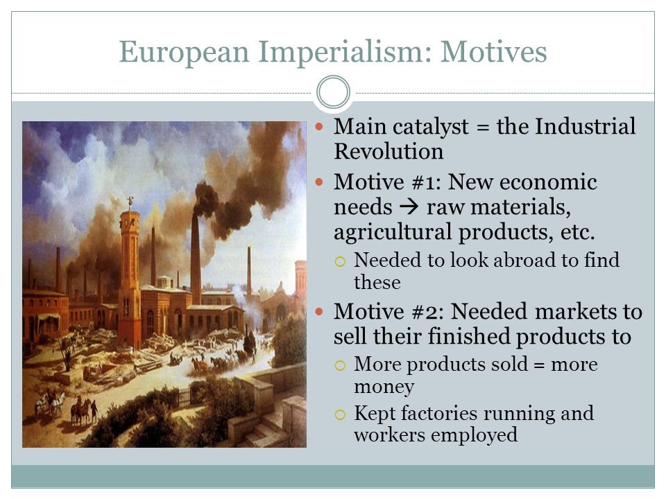industrial revolution catalyst for the world Second industrial revolution  by 1913, the united states produced one-third of the world's industrial out put-more than the total of great britain, france, and.