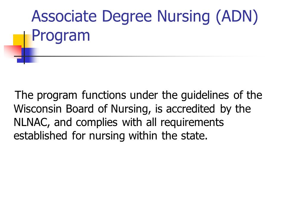 Associate Degree Nursing Program Adn Orientation Ppt Video