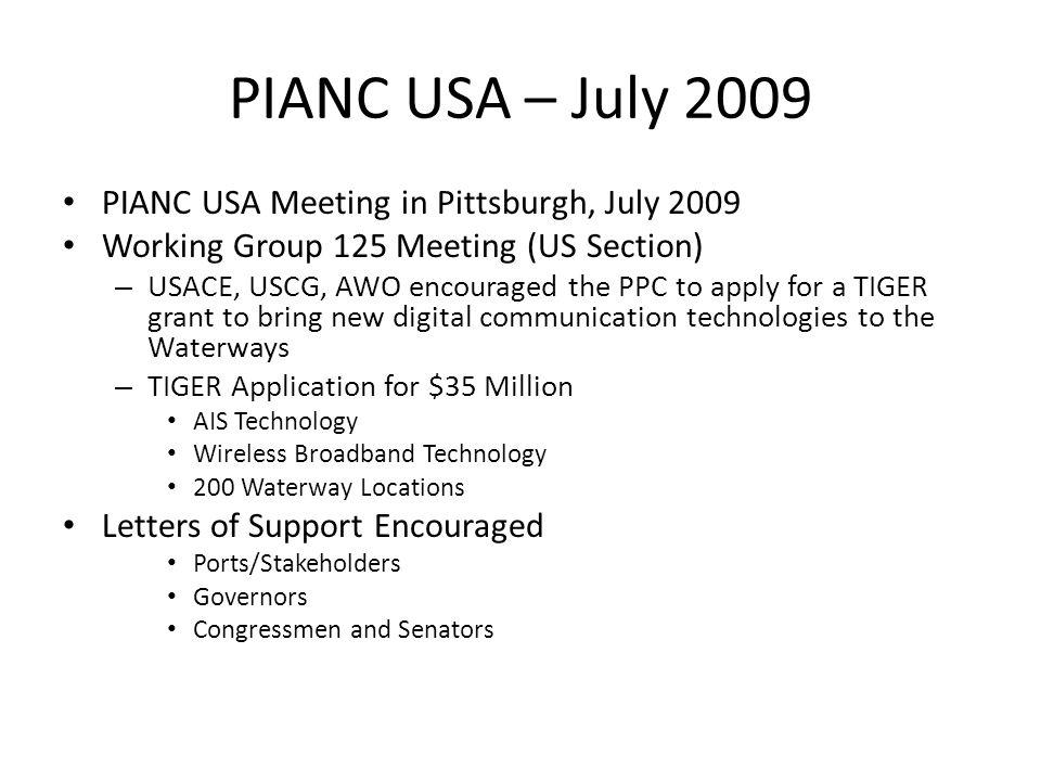 What is PIANC? Permanent International Association of Navigation ...