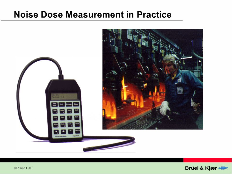 Noise Dose Measurement in Practice