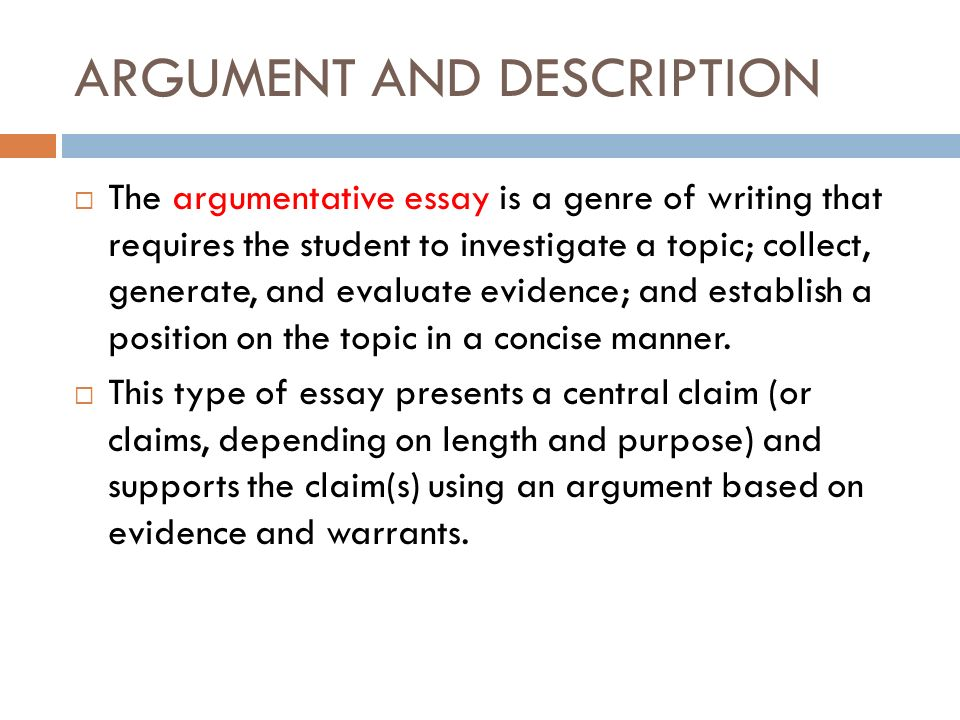 """an essays central argument or position is called Of the author's argument,  chapter 4 summarizing: the author's main ideas 53  statements ask yourself, """"what is central here."""