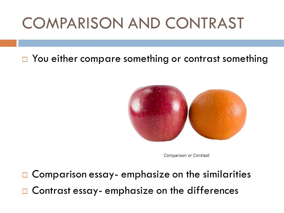 compare and contrast essay day and night