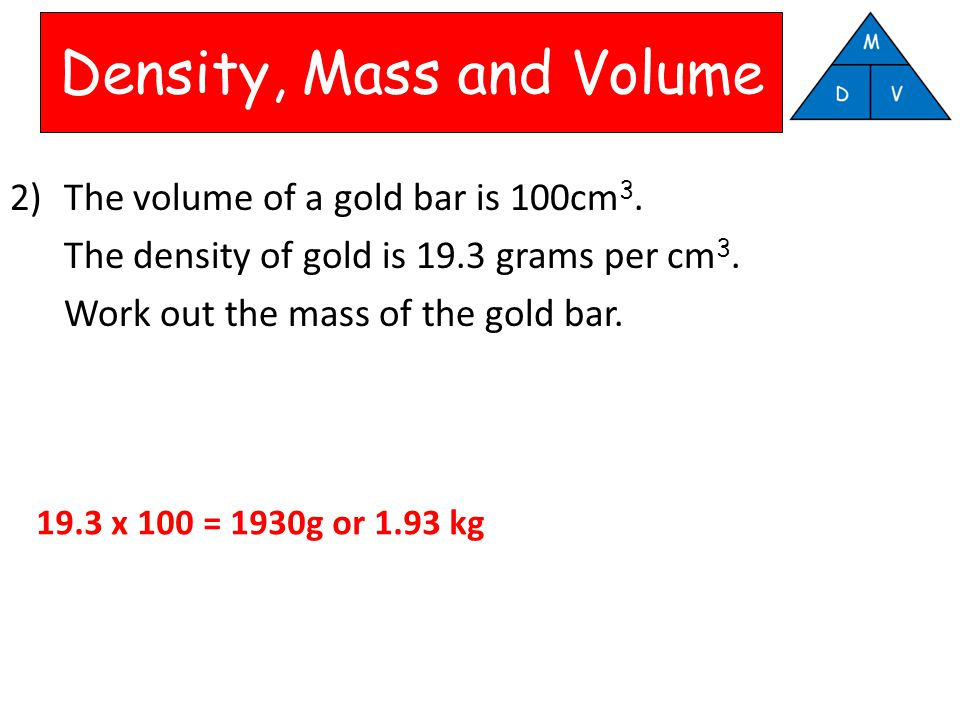 density mass and volume Key concepts density is a characteristic property of a substance the density of a substance is the relationship between the mass of the substance and how much space it takes up (volume.