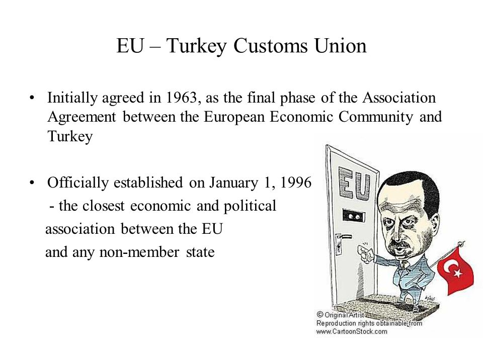 an introduction to the relationship between turkey and the european union The relationship between european colonialism and the industrialization countries wishing to join the european union must meet a turkey's close alliance with.