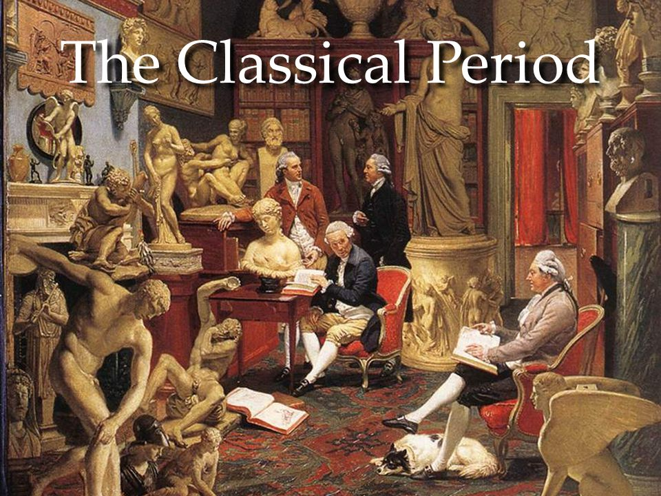 the classical period in music history History of czech music the history of music in the czech as implied by the term 'classical', the music of this period looked to the art and philosophy of.