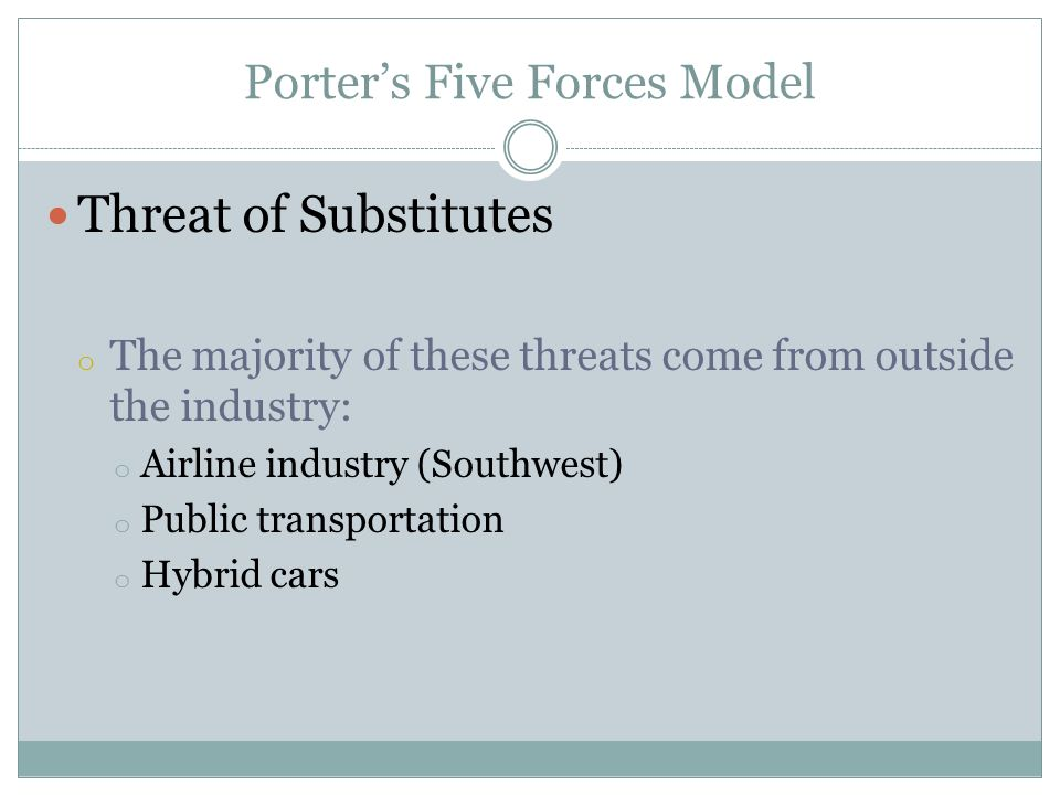 porter five forces airline industry pdf
