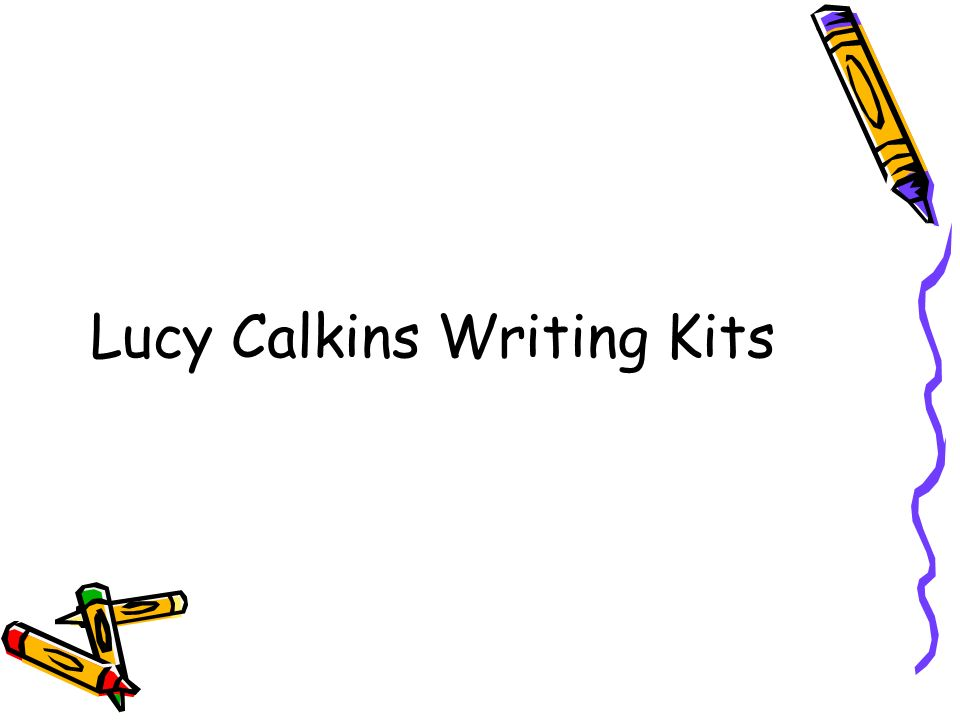 lucy caulkins writing workshop I've consulted with several teachers who are new to writing workshop and new to implementing the lucy calkins writing curriculum recently, i've been getting some questions from teachers, both on the blog and also in the field, about how to implement writing workshop as an instructional practice in their.