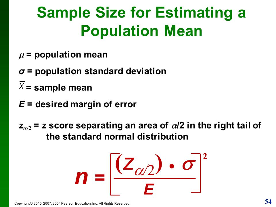 estimating a population mean Abstract: • the article presents predictive estimation of population mean of the  study variable in ranked set sampling (rss) it is shown that the predictive.