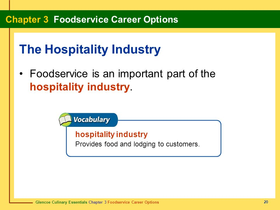 Food Service Industry Trends And Changing Structure