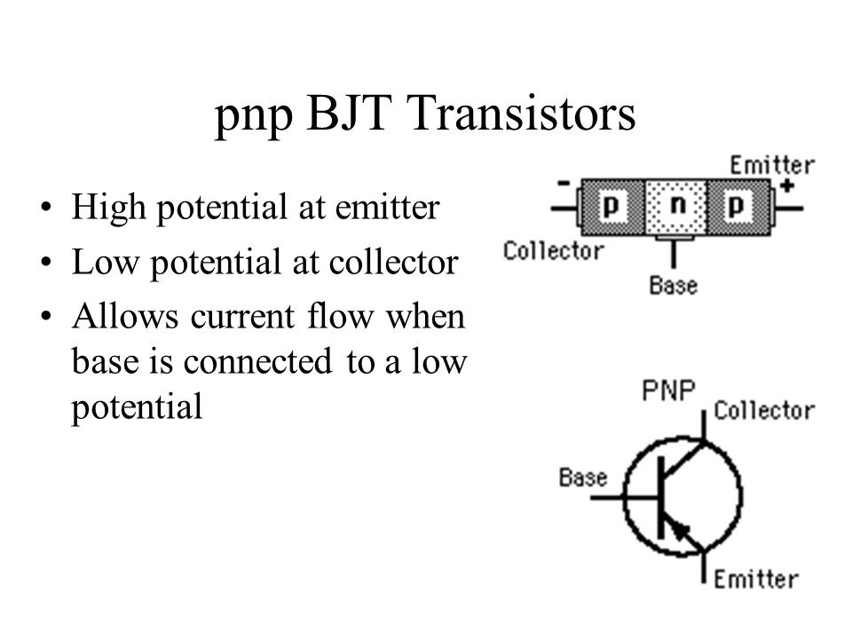 NPN vs. PNP Transistors as Common-Emitter Switches - YouTube