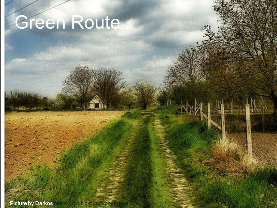 Green Route Picture by Darkos http://www.flickr.com/photos/darkos/