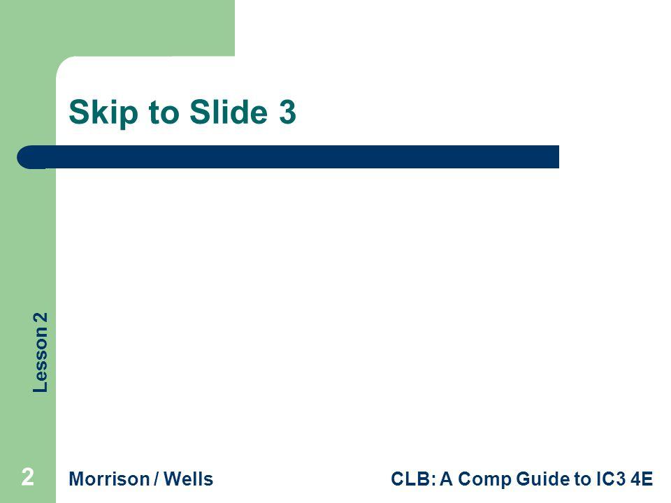 Skip to Slide 3