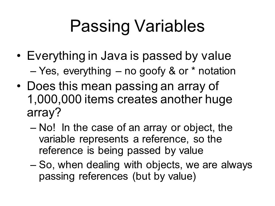 how to call a variable from another class in java
