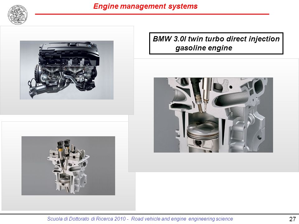 BMW 3.0l twin turbo direct injection