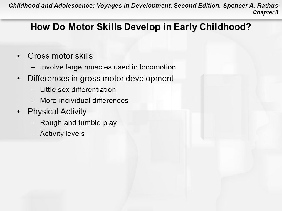 Chapter 8 early childhood physical development ppt for Physical and motor development in early childhood