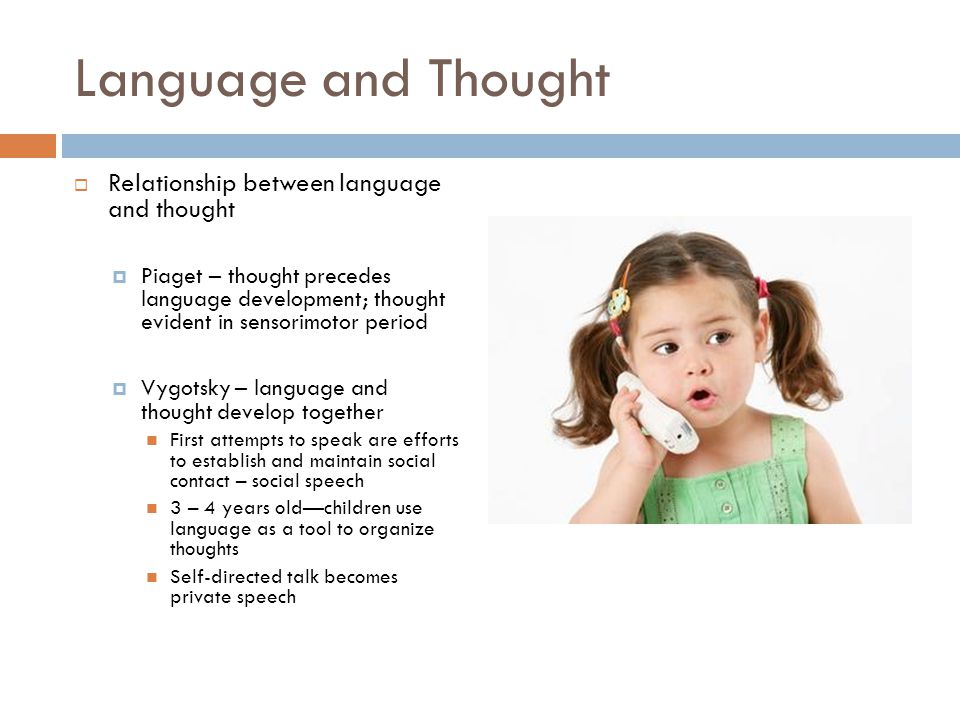 Relationship between language and thought essay