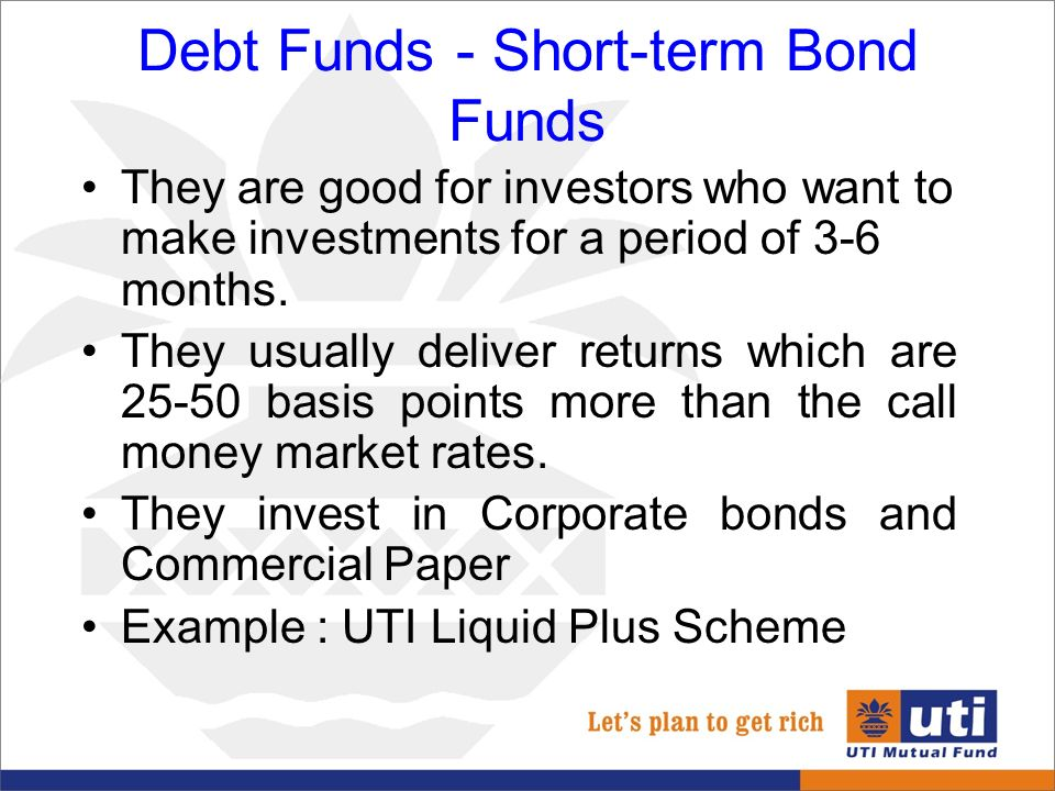 short term investments commercial paper Investment strategy the portfolio of the fund consists of a selection of high  quality canadian debt instruments, including commercial paper, bankers'.