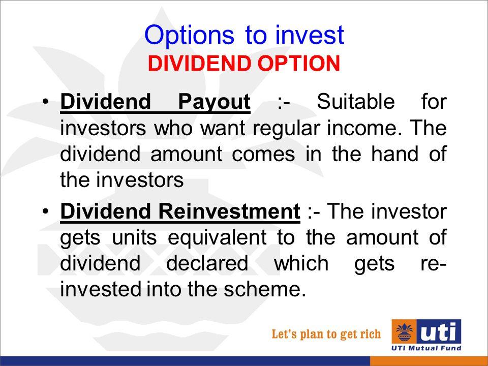 Best option to invest money