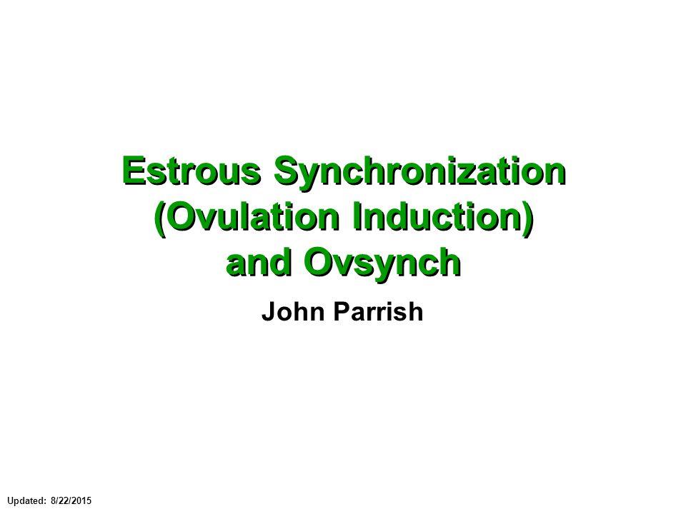 Estrous synchronization ovulation induction and ovsynch ppt estrous synchronization ovulation induction and ovsynch fandeluxe Image collections