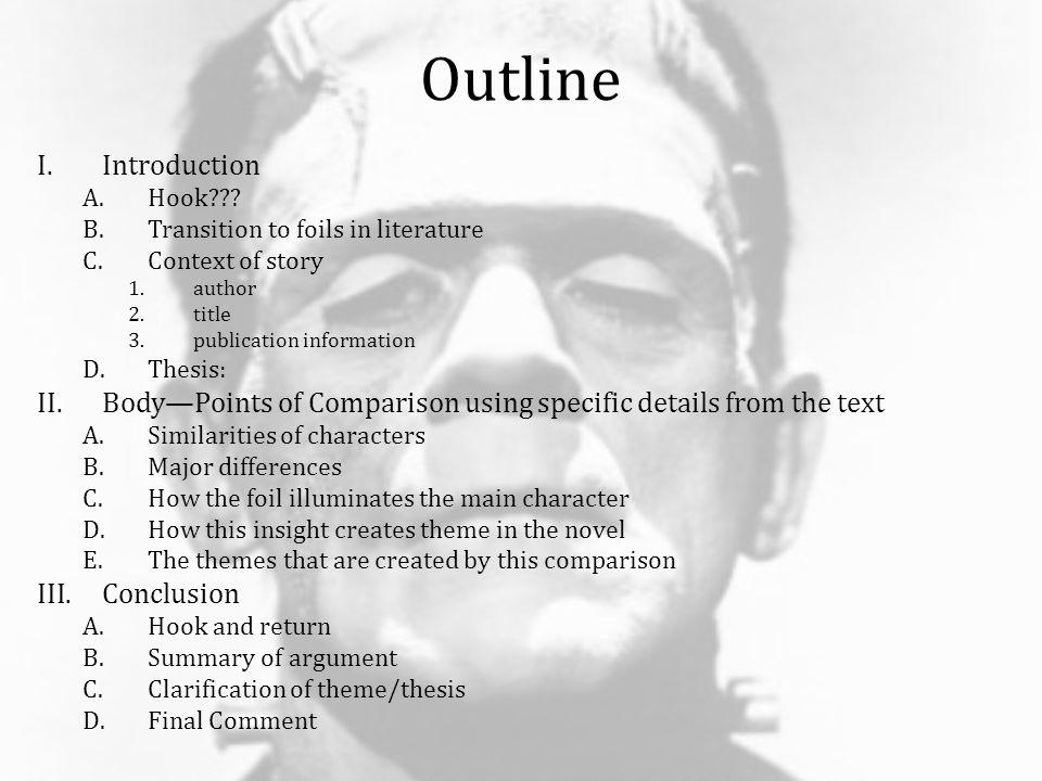literary analysis essay for frankenstein Essays and criticism on mary shelley's frankenstein - critical essays masterpieces of women's literature frankenstein analysis sample essay outlines.