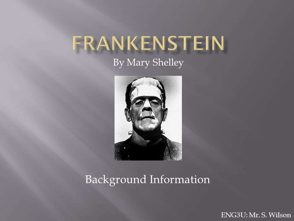 "frankenstein close analysis Home » literature » fiction » analysis of ""frankenstein analysis of ""frankenstein"" by mary shelley : morality throughout frankenstein by mary."