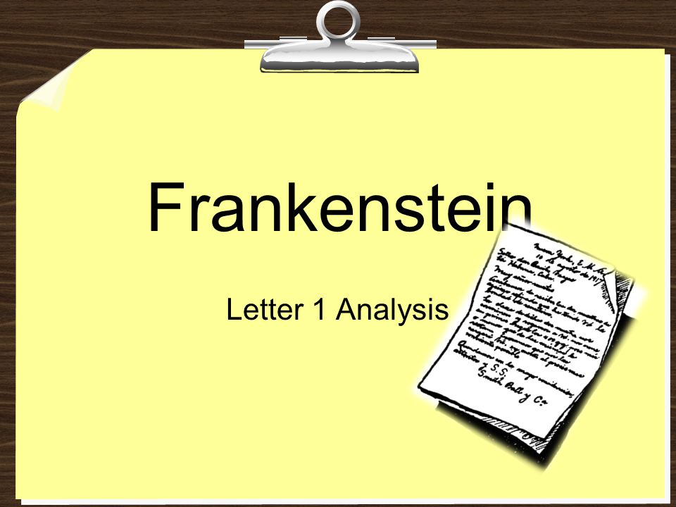 analysis of frankenstein's innocence from innocence Oops you encountered the following error: the page you're looking is currently  down we apologize for this inconvenience please try again shortly until then.