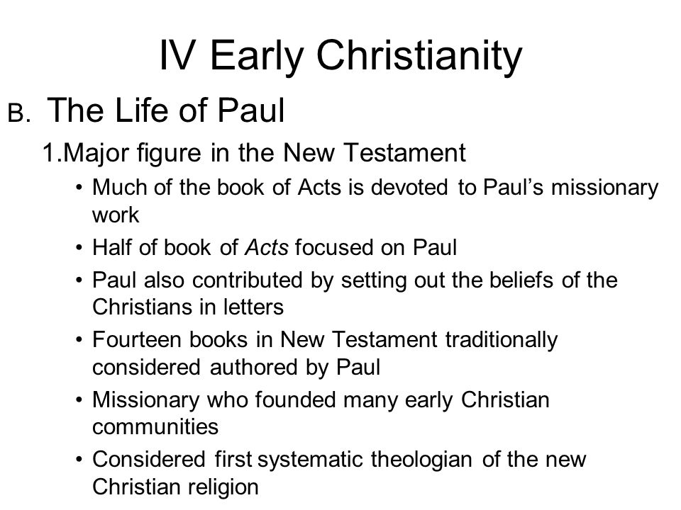 pauls contribution to christianity Significance of paul of tarsus  christianity beyond the confines of  there are many notable examples of pauls use of his understanding of greek culture and.