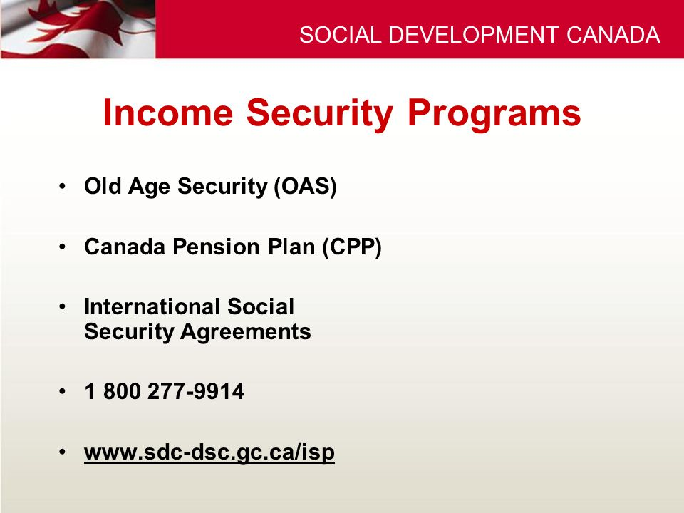 how to get old age pension in canada