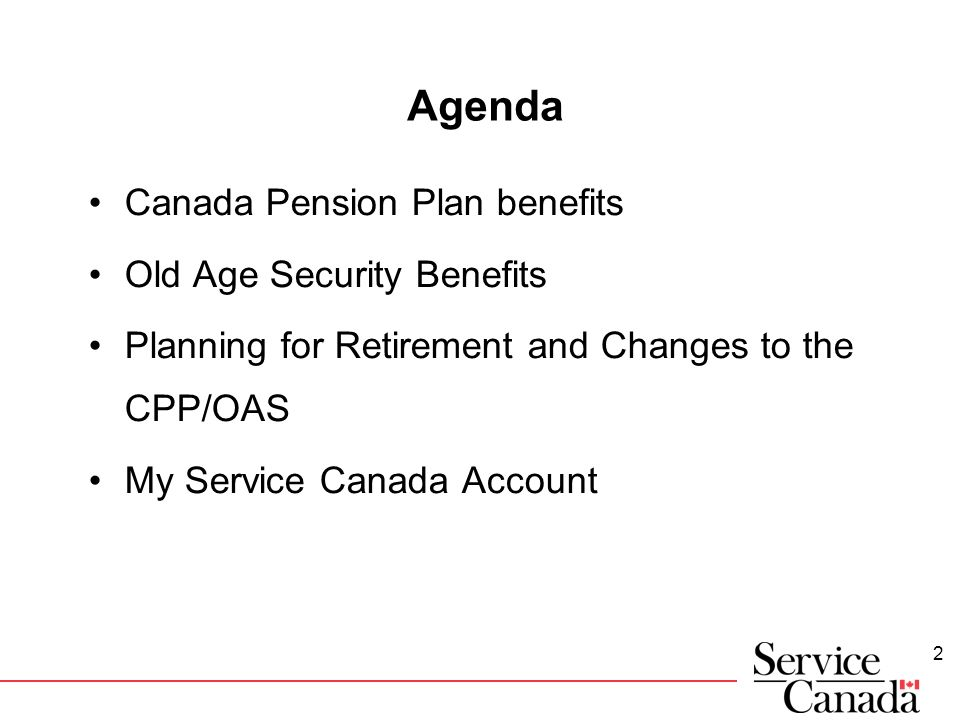The Ins and Outs of the Old Age Security Pension