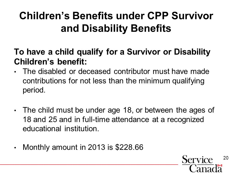 2016 Canada Child Benefit Information - Disabled World