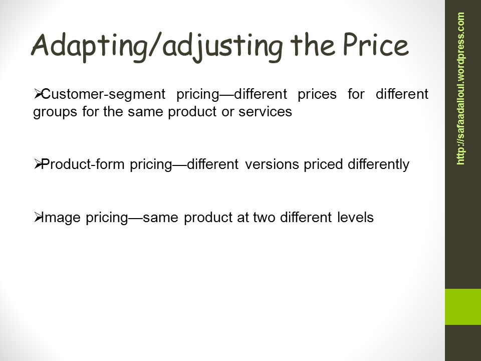 adapting price of product Adapt pharma canada ltd general terms and conditions of sale products will be invoiced at prices prevailing at the a purchaser of adapt product(s.
