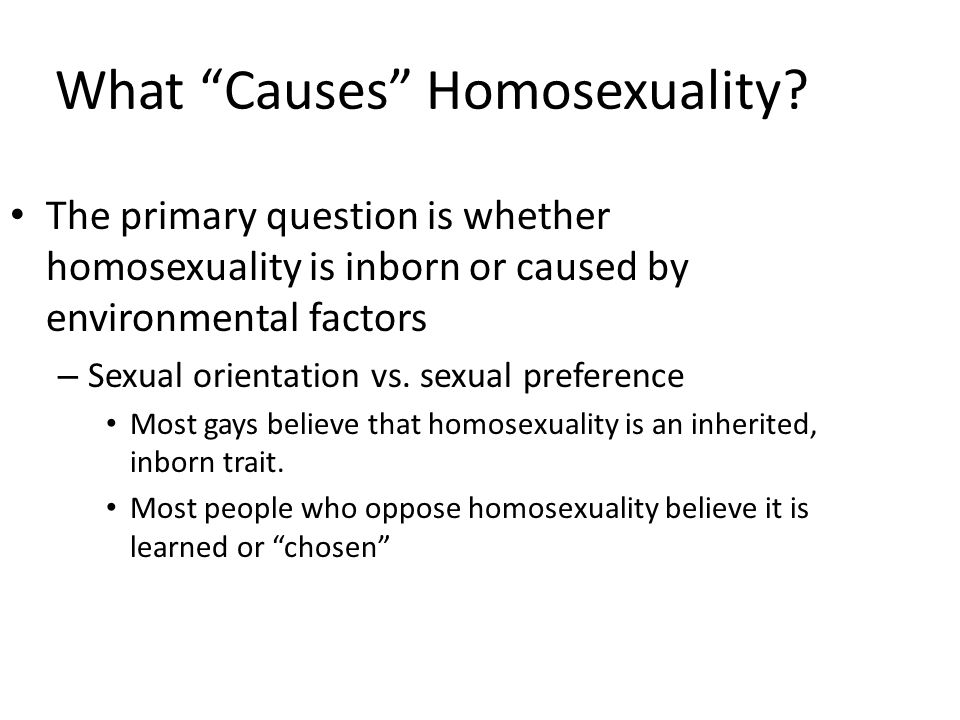 the question of whether homosexuality is unnatural It's often argued that homosexuality is unless we assume there is some unnatural external the bottom line is that homosexuality is natural but if any species.