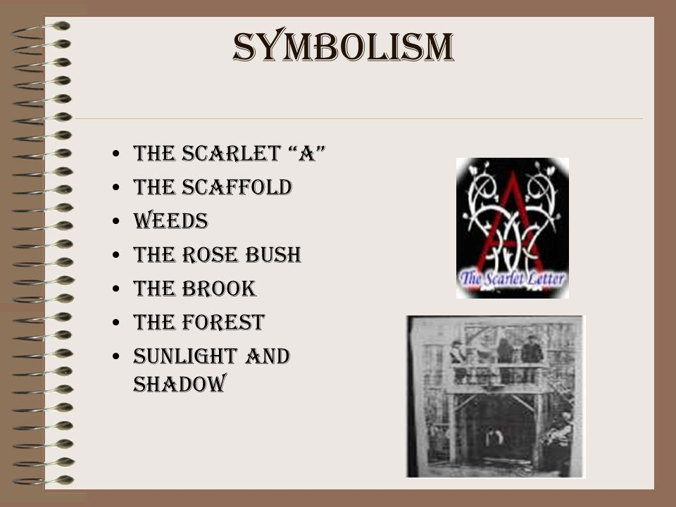 an analysis of symbol significance in the scarlet letter by nathaniel hawthorne The scarlet letter , by nathaniel hawthorne,  the scarlet letter analysis essay  this major symbol is a scarlet letter a.