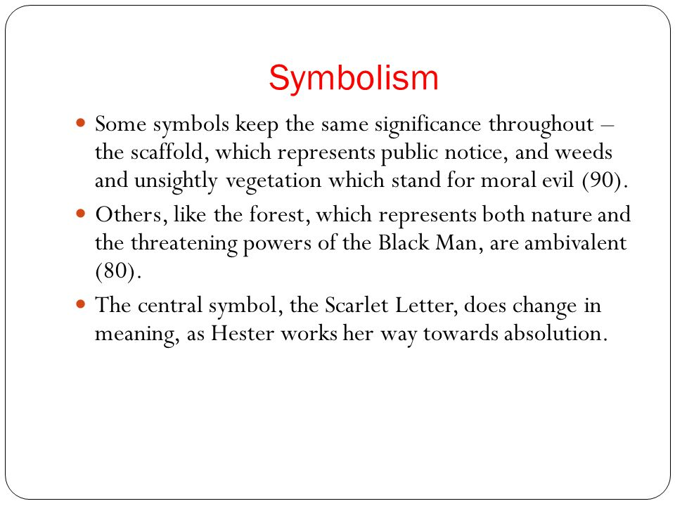 the symbolism of the scaffold in the scarlet letter by nathaniel hawthorne