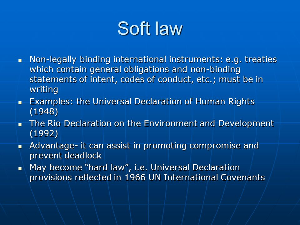 Nature of International Law Essay Sample