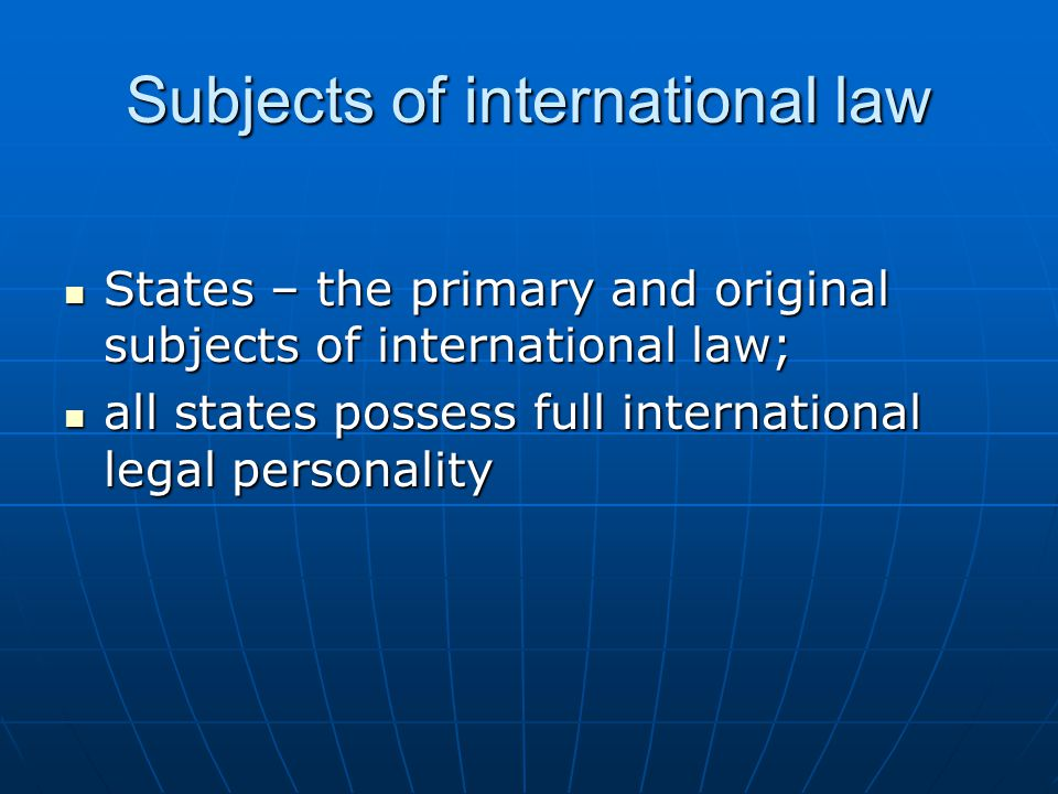 the characteristics and application of international law Sources of international law: international court of justice and a range of specialised rule even before it emerged as such to avoid its application 3.