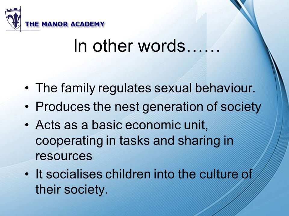 family basic unit of the society Competency: 611 analyze family as the basic unit of society 615 analyze the  role of family in developing independence, interdependence, and commitment.