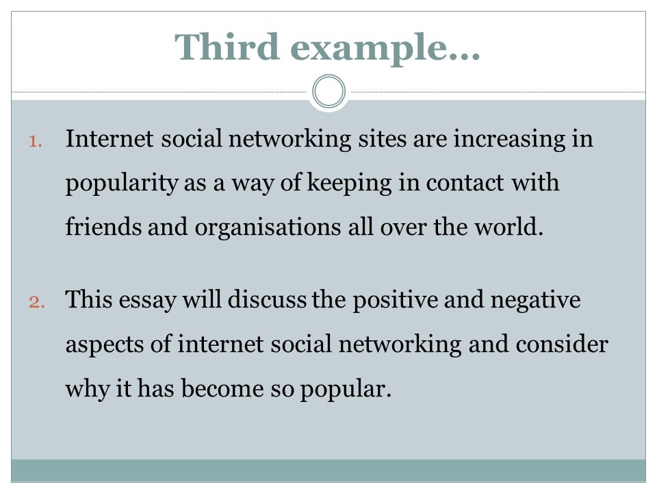 introductions and conclusions ppt video online  8 third example