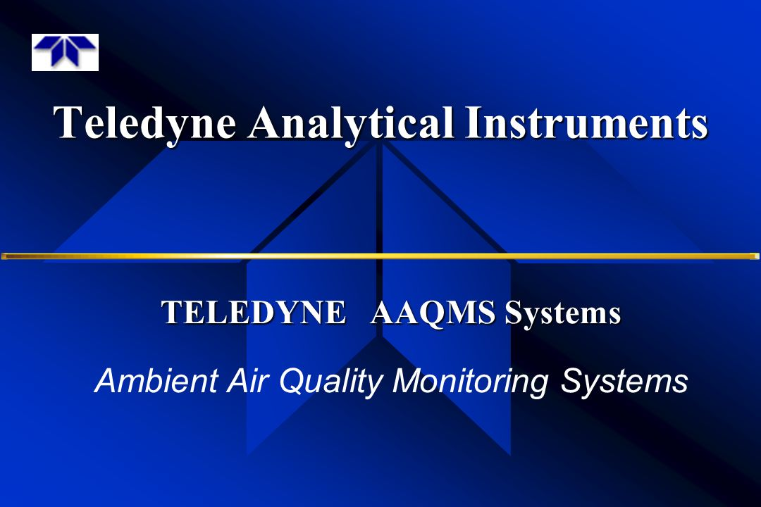 Teledyne Analytical Instruments Ppt Video Online Download
