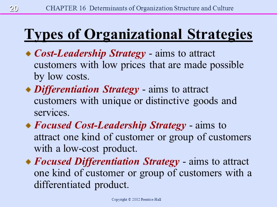 types of organizational structures An organizational structure defines how jobs and tasks are formally divided, grouped and coordinated the type of organizational structure would depend upon the type of organization itself and its philosophy of operations.
