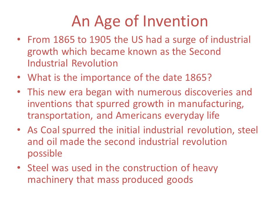 the importance of the industrial revolution The industrial revolution and its impact on european society l in the new industrial machines and the factories that were britain was richly supplied with important mineral resources, such as coal and iron ore, needed in the man.
