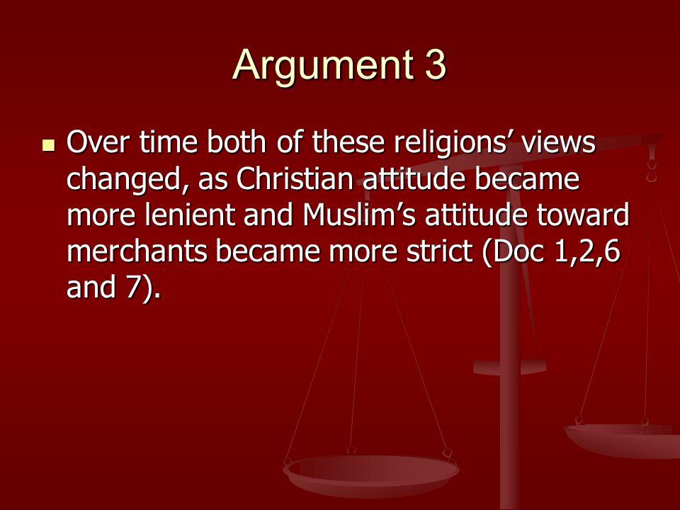 the christian and muslim attitudes When muslims become christians  it seems that muslim attitudes towards apostasy are a  the islamic faith is in the same position as the christian faith.