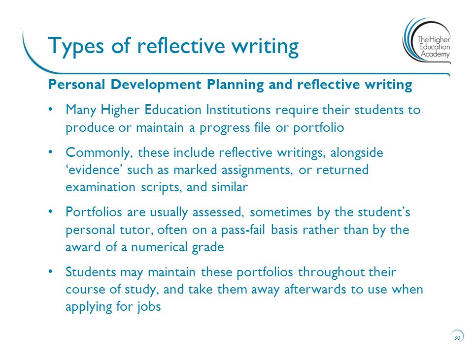 Writing a reflective essay in midwifery courses